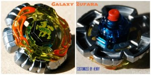 Galaxy Zufara - Customized Beyblade