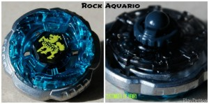 Rock Aquario customized beyblade