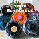 PlayDrMom's son shows you how to customize your beyblades