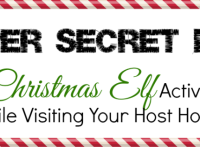 Super Secret List of Elf Activities - discovered by PlayDrMom