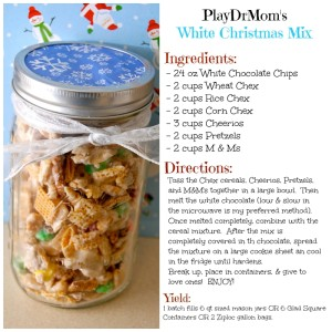 PlayDrMom's White Christmas mix recipe