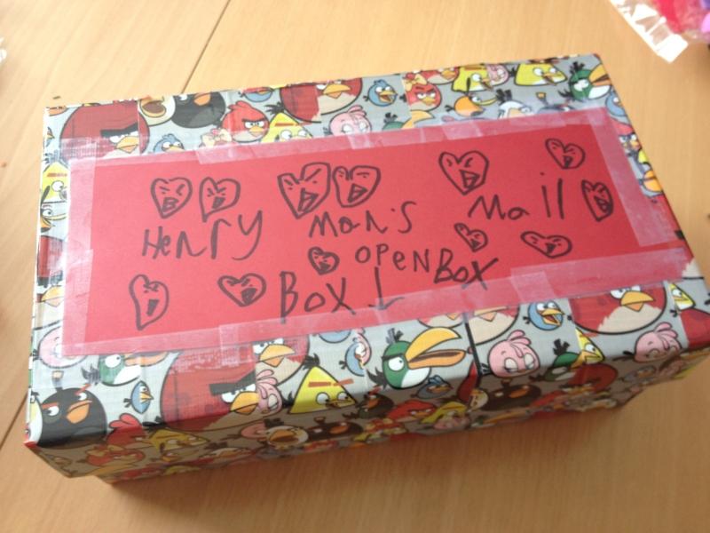 angry bird valentine mailbox - Valentine Mailboxes