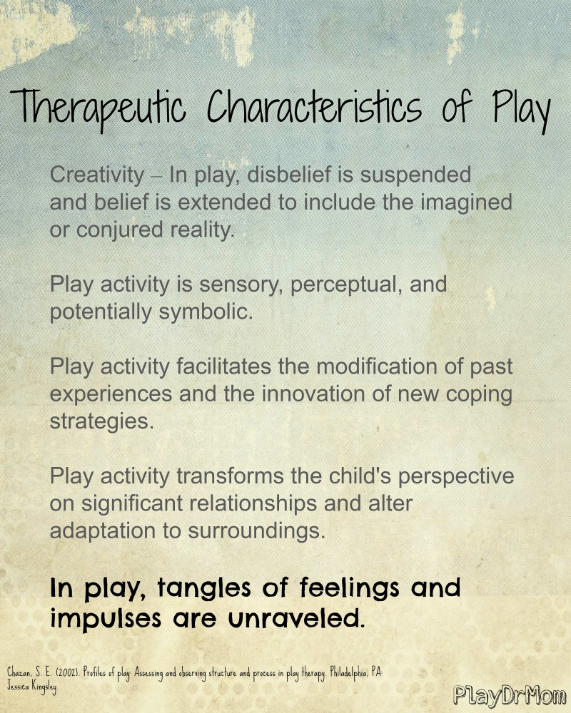 Therapeutic Characteristics of Play