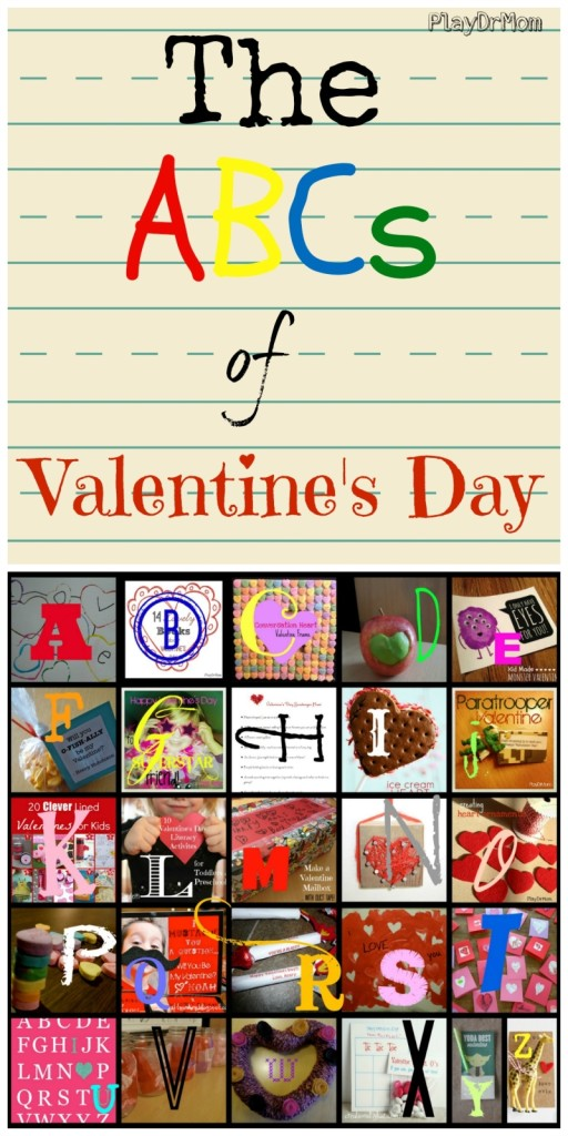 PlayDrMom rounds up Valentine's Day fun from A to Z!