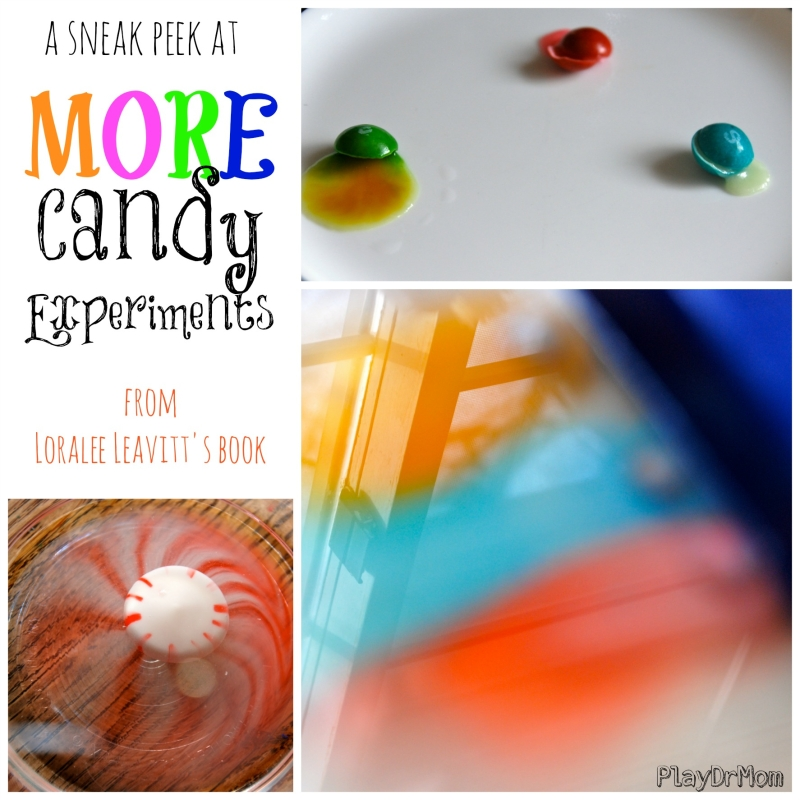 More Candy Experiments! a sneak peek at Loralee Leavitt's book
