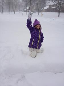 January 5, 2014 - snow