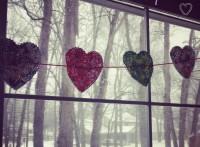 paper heart banner