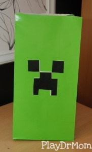 Creeper Gift Bag