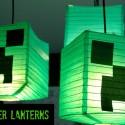 Make Your Own Creeper Lanterns