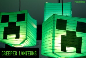 Make Your Own Creeper Lanterns