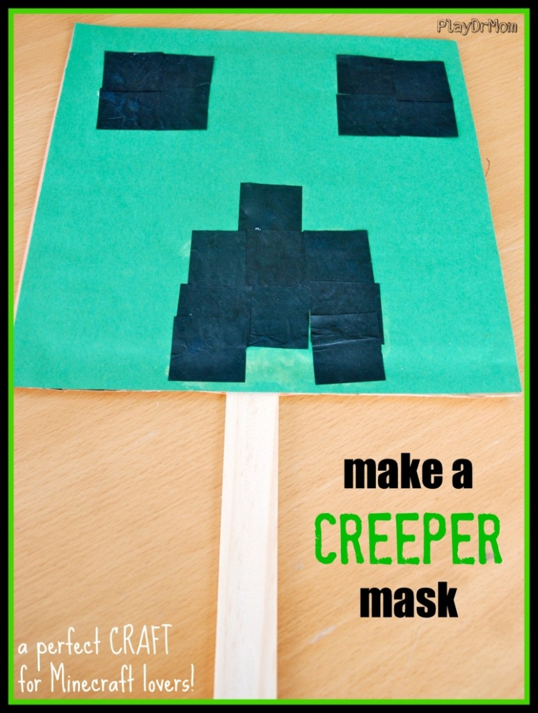 Make a CREEPER Mask!
