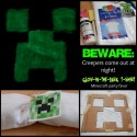 Glow-in-the-Dark Creeper Shirts