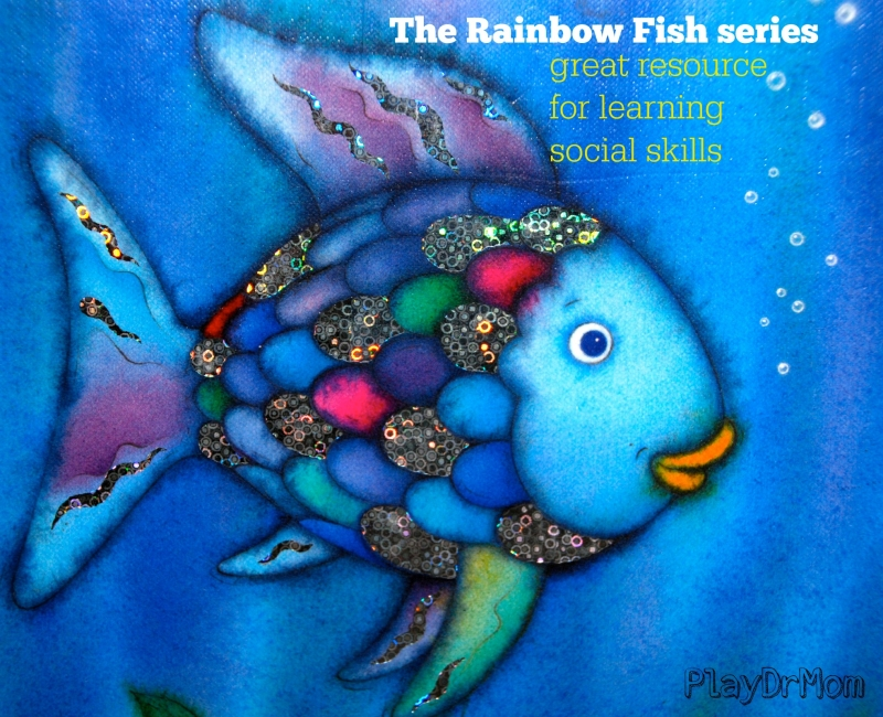 The rainbow fish series by marcus pfister great resource for The rainbow fish
