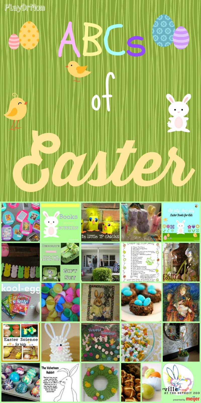 PlayDrMom rounds up the ABCs of Easter!
