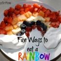 fun ways to eat a rainbow