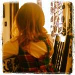 FabKid: Plaid Flannel Heart Back Dress