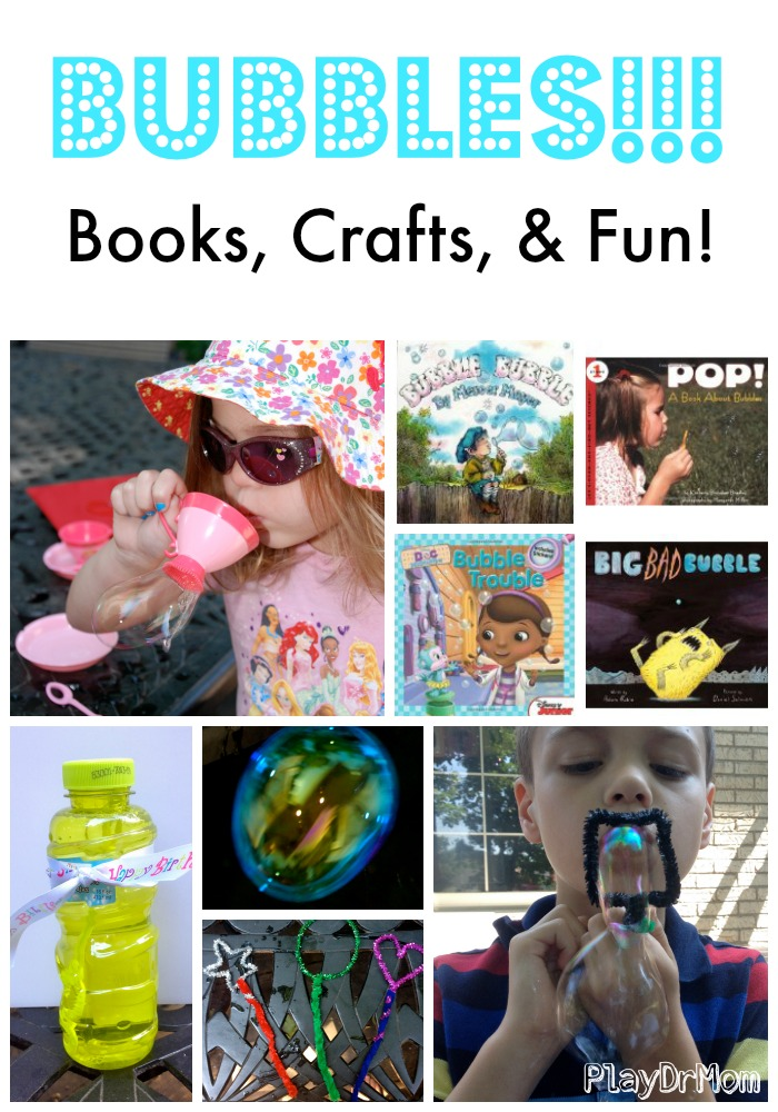 Bubbles!  Books, Crafts, & Fun!