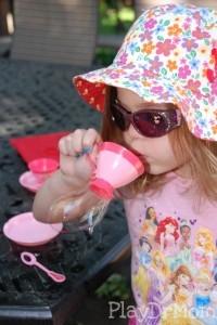Enjoying a Cup of Bubble Tea!