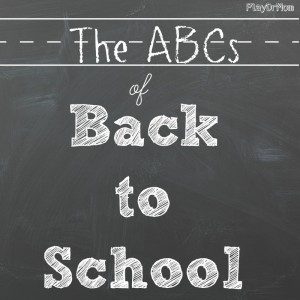 abcs of back to school