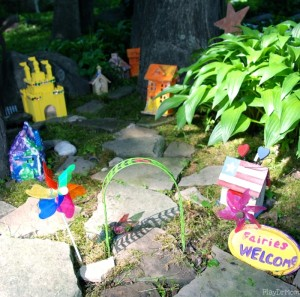 upgraded Fairy Village Garden