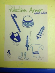 Protective Armor activity for Play Therapy