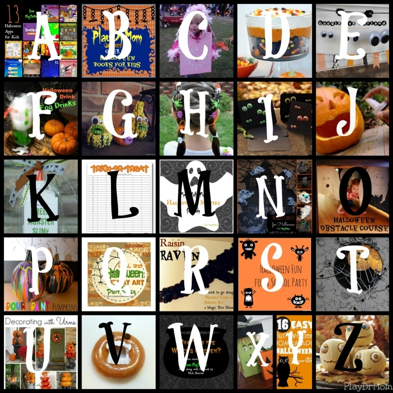 Halloween … A to Z