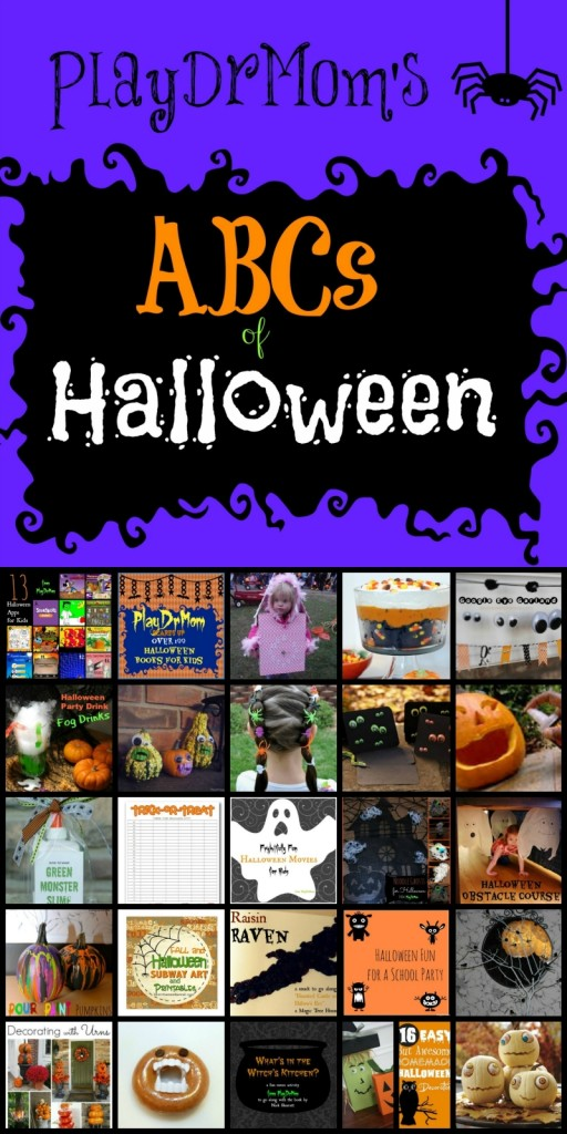 abcs of halloween (2 block)