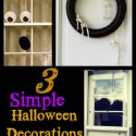 CREEPY … SPOOKY … easy & fun Halloween Decorations