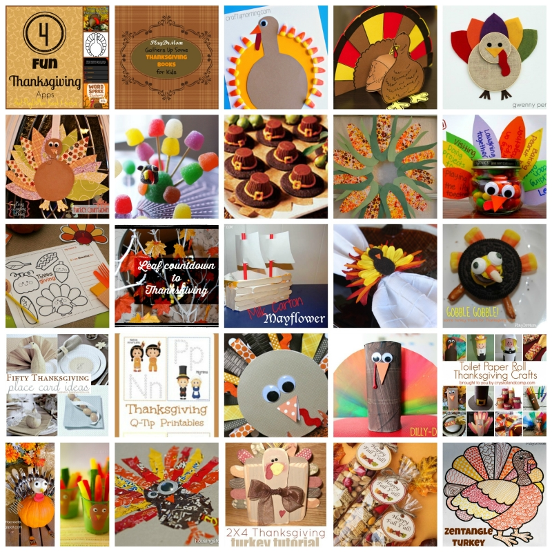 The ABCs of Thanksgiving … fun ideas from A to Z