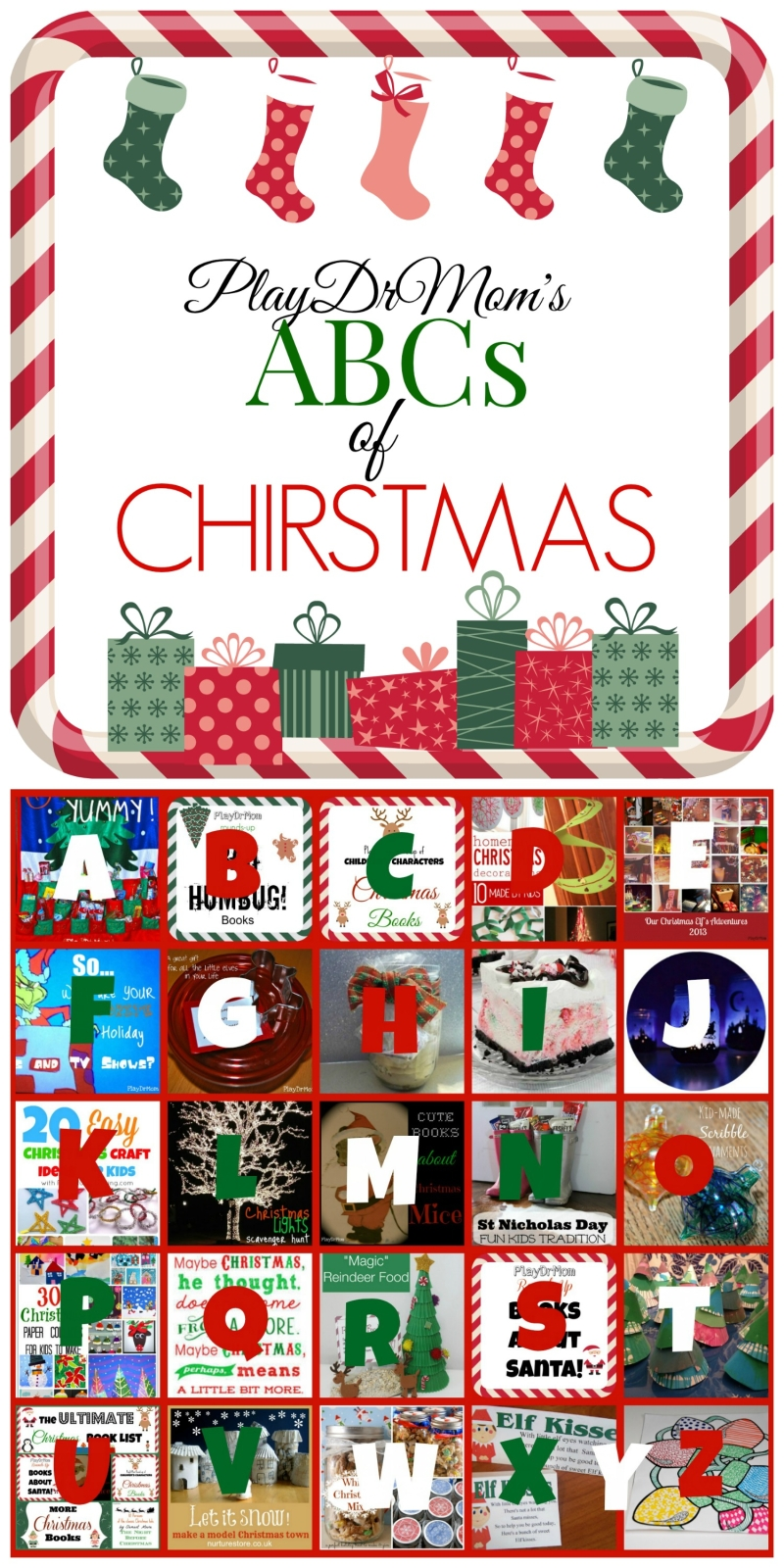 ABCs of Christmas … holiday fun from A to Z!
