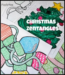 Christmas Zentangles … a fun way to create!