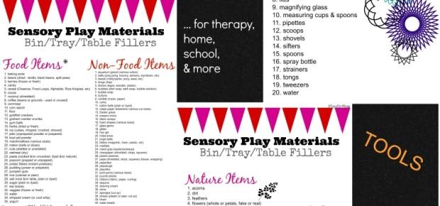 sensory play essentials