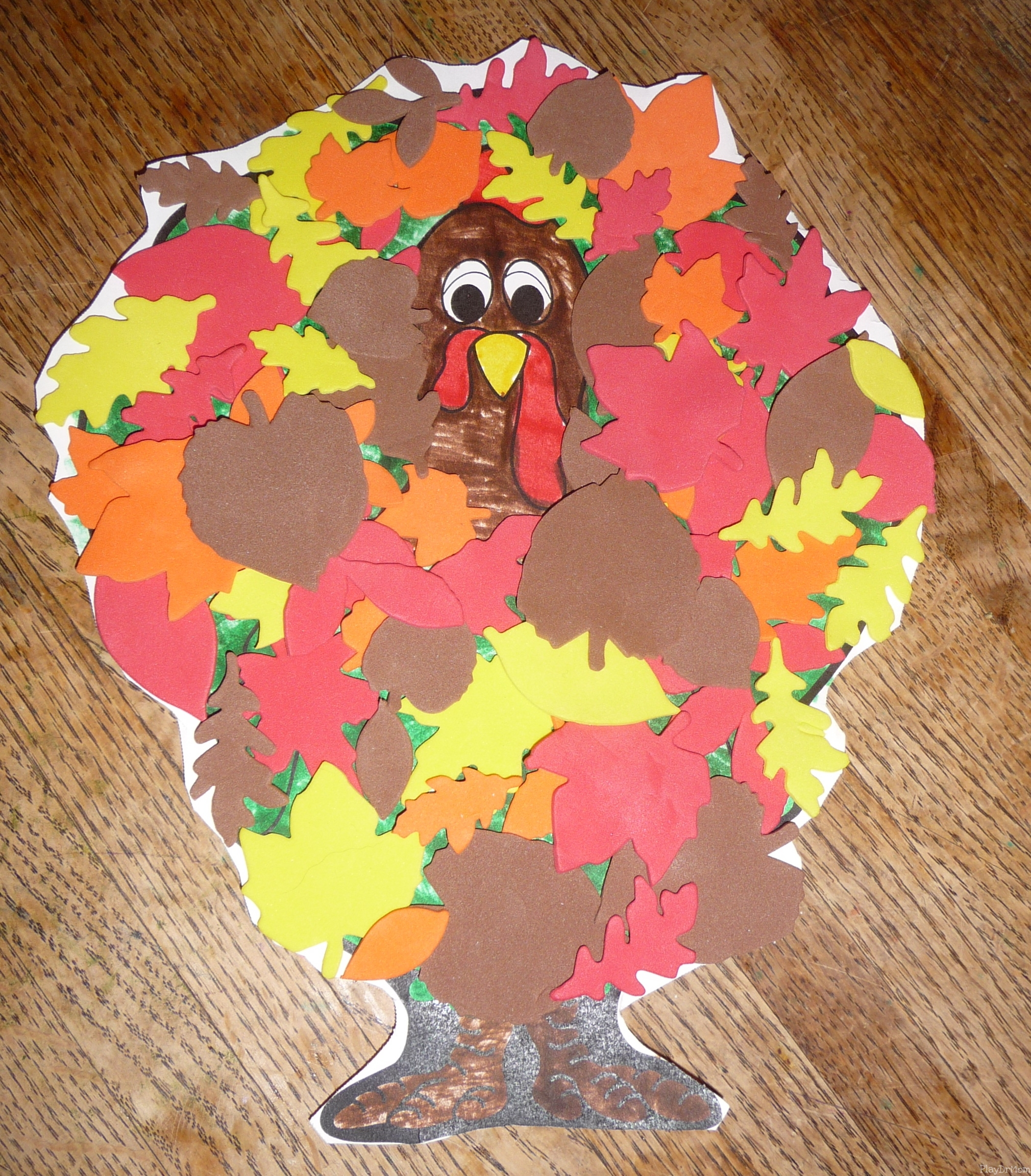 disguise the turkey homework